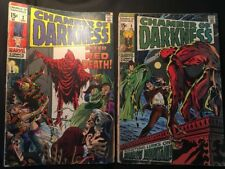 Two 1969 & 1970 CHAMBER of DARKNESS Marvel Comics STAN LEE Horror No 2 & 3 COMIC