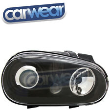VW Golf IV 4 98-04 R32 Style BLACK Projector Head Lights