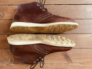 Chukka Red Wing Red Brown 3141