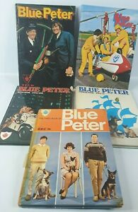Blue Peter Fourth Books Annuals Third, Fourth, Sixth, Seventh, Eighth  1960s