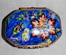 Vintages Limoges Porcelain Box by Rochard (France)