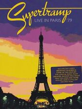 SUPERTRAMP : LIVE IN PARIS 1979 -  DVD - UK Compatible Sealed