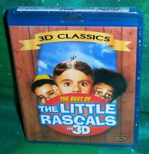NEW RARE OOP 3D CLASSICS THE BEST OF THE LITTLE RASCALS IN 3D TV BLU RAY 2012