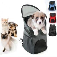 Pet Dog Cat Travel Double Shoulder Backpack Outdoor Pet Carrier Bag Noverlty Fun