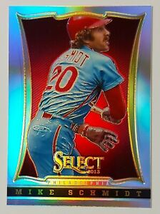 2013 Panini Select Baseball SILVER PRIZM Parallel Phillies MIKE SCHMIDT #103