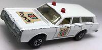 Vintage Matchbox Superfast No 55 Mercury Police Commuter Estate Car