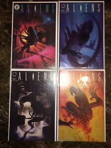Dark Horse Aliens 1989 #1-4 Set NM-