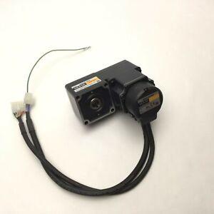 Vexta BXM230-GFS Brushless DC Stepper Motor With GFS2G15FR 15:1 Gear Head IP54