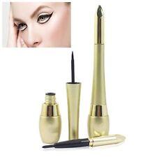 Cosmetic Liquid Black Long Lasting Waterproof 2 In 1 Eyeliner Pencil Pen