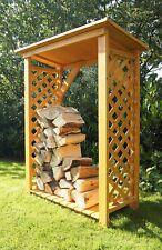 Armadio  CASETTA BOX PER LEGNA  Legnaia  giardino   H 148 cm