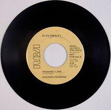 ELVIS PRESLEY: Promised Land / It's Midnight '74 RCA PROMO 45 NM- Super