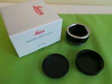 Leica Camera Lens Extension Tubes