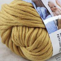 Sale New 1 Skein x 50g Soft 100% Cotton Chunky Super Bulky Hand Knitting Yarn 12