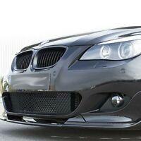 04-10 BMW E60 E61 Frontstoßstange Lippe Verteiler Spoiler H Stil Kunststoff
