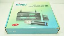 Mipro Wireless ACT-312/ACT-31T/ACT-30H Receiver/Transmitter/Belt 5ND 566 - 590