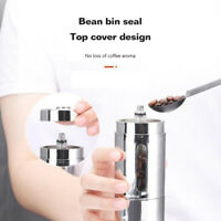 Mini Manual Coffee Grinder Stainless Steel Coffee Bean Spices Grinding Machine