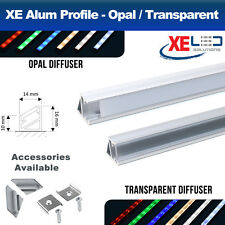 2 Meters Corner Aluminium LED Profile Extrusion Channel for LED Strip Lights