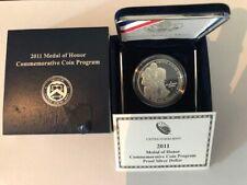 2011-S Medal of Honor $1 Silver Commemorative Proof w/Box & COA