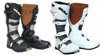 WULFSPORT ADULT LA MOTORCROSS OFF ROAD  SUPERBOOT  BLACK OR WHITE