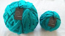 4kg Turquoise  Mammoth Giant Chunky Extreme Arm Knitting Yarn Super Big Bulky