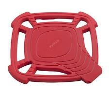 Zyliss Small Silicone Trivet With Spoon Rest 240*C Dishwasher Safe Red