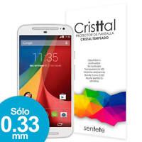Sentete® Moto G (2014) Protector de Pantalla de Cristal Templado PREMIUM