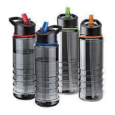 BPA Free Flip Straw Tritan Drinks Sport Hydration WaterBottle Cycling Hiking