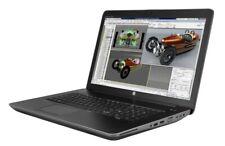 "HP ZBook 17 G3 17.3"" Intel i7-6700HQ 2.60GHz 256GB SSD 1TB HDD 16GB RAM - Win 10"