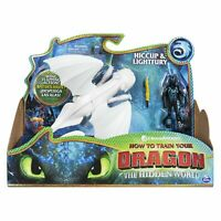 Dreamworks How To Train Your Dragon - Hiccup And Lightfury Kids Play Toy Gift