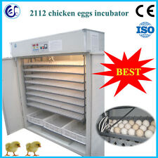 Automatic chicken/goose/duck egg incubator 2112 pcs SEA CUSTOM PICKING
