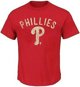 Philadelphia Phillies MLB Favorite Pitch Mens Red Shirt Size 2XT