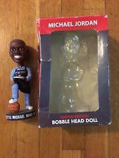 Rare MICHAEL JORDAN STEAKHOUSE Limited Edition Bobblehead Chicago Bulls w/box