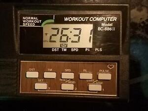 Nordic Track BC-886II Workout Computer-LikeNew