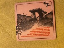 BEER MAT COASTER - TWO SIDED - GUINNESS THE DOLMEN   (FF151)