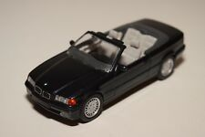 AA 1:43 SCHABAK BMW 3ER 3 SERIES E36 CABRIOLET METALLIC BLACK N MINT CONDITION