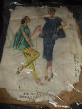Vintage McCall's 3515 Maternity Pants & Skirt Pattern - Size 14 Waist 26 1/2