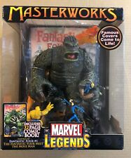 MASTERWORKS MIB MARVEL LEGENDS FANTASTIC FOUR & THE MOLE MAN W/COMIC BOOK