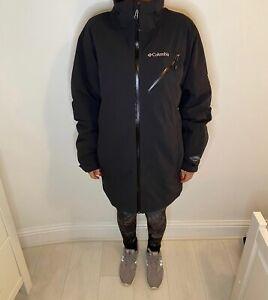 Columbia Warm Ski Snowboarding Jacket  Winter Waterproof Coat Insulated Black