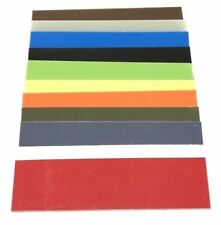 ".04"" -- G10 Knife Handle Liner Spacer Sheet-  5.5"" x 12.25""- 13 Vibrant Colors"