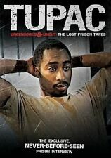 Tupac Shakur Uncensored & Uncut The Lost Prison Tapes R1 DVD 2pac Makaveli
