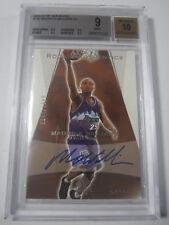 2003-04 SP Authentic Utah Jazz Basketball Maurice Williams Auto Rookie Bgs 9 RC