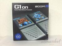 Zoom G1on Multi Effect Processor Stomp Pedal NEW FREE SHIPPING JAPAN NEW