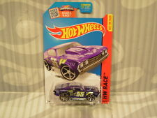 2015 HOTWHEELS ''HW RACE'' #140 = `69 CHEVELLE = PURPLE  us