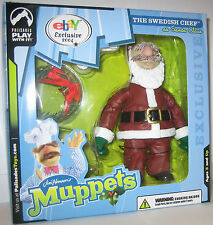 The Muppet Show Swedish Chef Santa Palisades ebay Figure MISB with Mailer c10
