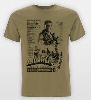 Commando Kanji T shirt Retro Asian Film Cult Arnie Gym Fit Arnold Beast Tee