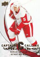 2008-09 Upper Deck Hockey Captains Calling #CPT-4 Nicklas Lidstrom Red Wings