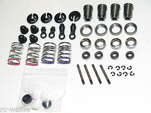 SER903014 SERPENT VIPER 977 EVO 35TH ED. ON-ROAD FRONT AND REAR SHOCK STRUT SET