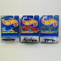 Hot Wheels Lot of 3 Treasure Hunt Series Cars Olds Aurora Twang Thang Chaparral2
