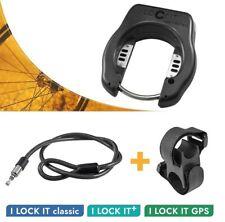 Fahrradschloss + Einsteckkabel mit Halterung