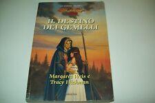 MARGARET WEIS/TRACY HICKMAN-IL DESTINO DEI GEMELLI-ARMENIA-DRAGONLANCE-VOL. 1